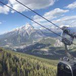 Banff Gondola Townsite View