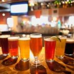 A selection of pints from Banff Ave Brewing Co