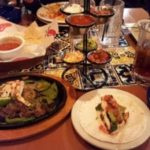 An array of food from Chili's in Banff