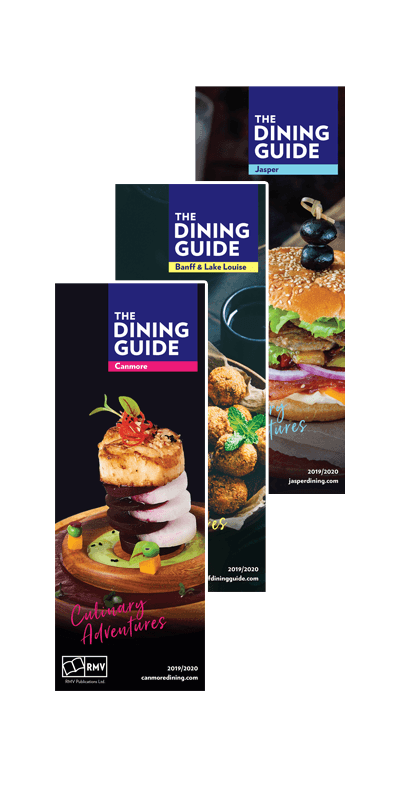 The Dining Guide Print Covers