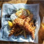 The best Fish & Chips in Canmore are at the Georgetown Inn